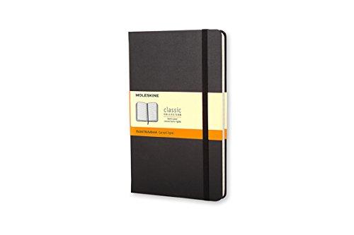 Moleskine Taccuino Notebook Classic, Tascabile, Righe, Nero