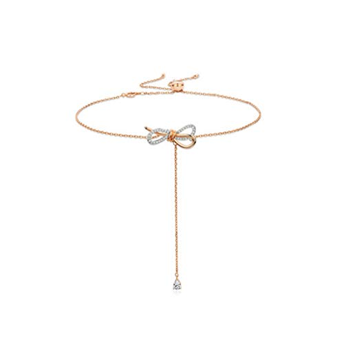Ladies necklace Stil schlüsselbein Kette weibliche Mode persönlichkeit Halskette Kette Kragen schmuck zeichnen zarte Halskette Bogen -