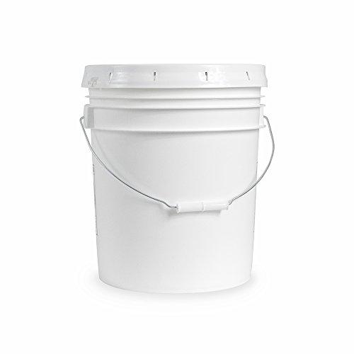 Yard Bucket (eLuxury ESBuckets-P Lebensmittelqualität Lebensmitteleimer Eimer mit Deckel 18.9L Bucket - 6 Pack With Lids)