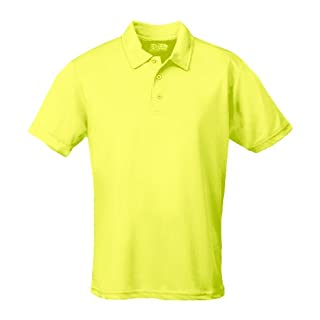 AWD Just Cool Breathable Cool Polo Shirt Electric Yellow S