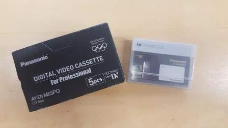 Pacco 5 Videocassette Panasonic AY DVM63PQ DV Professionali