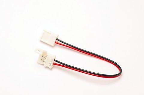 3er Set LED Universum 2 pol Verbinder für einfarbige LED