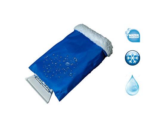 FG Eiskratzer mit Handschuh 100% wasserabweisend weich gefüttert mit Reifkratzer stabile Ausführung Eisschaber -