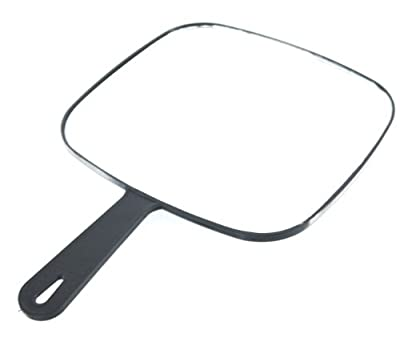 Head-Gear Professional Hairdressing Square Black Styling Mirror - cheap UK light shop.