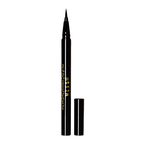 Stila Stay All Day Waterproof Liquid Eye Liner, Intense Black 0.5 ml