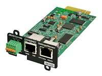 EATON IP and ModBus Network Manag ement Card Remote Monitoring and Control Minislot -