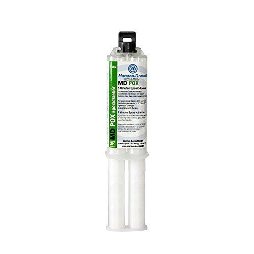 Domsel MD-pox Epoxidkleber 1-1 Doppelspritze 25 g Kartusche, MPO.S25