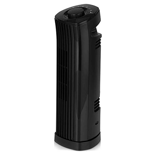 31m59PlzDQL. SS500  - Signature S40012B Portable 29 Inch Oscillating Tower Fan with 1 Hour Timer and 3 Speed Settings, Black