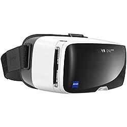 ZEISS VR ONE 112 7000 Plus 3D Virtual Reality Headset mit Mulitschale weiß
