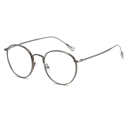 CVOO Round Spectacle Frames Women Men Optical Frame Transparent Glasses For Men Glasses Frames With Clear Glass