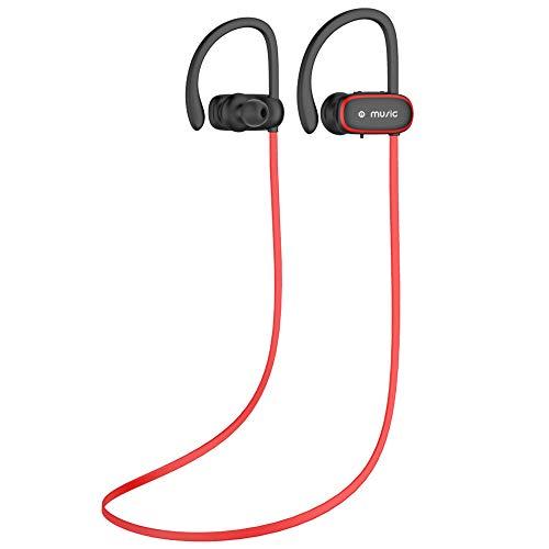 Bluetooth Kopfhörer, Benefast 4.2 HD Stereo Sport Headset,IPX5 kabellos Headphones Mit Mikrofon, CVC 6.0 Noise Canceling In Ear Ohrhörer Für Joggen iPhone Samsung iPad Huawei