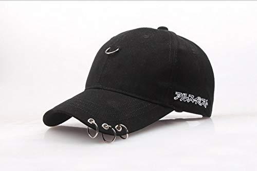 ZHAOSHOP Frühling und Sommer Eisenring Baseballmütze Baumwolle Brief Ente Zunge Hut Hersteller Großhandel Männer und Frauen Sport Mode Sonnenhut