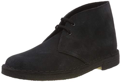 Clarks Originals Boot, Stivali Desert Boots Donna, Blu (Navy Suede -), 41.5 EU