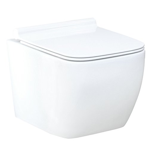 LAVITA KERAMIK HÄNGE-WC-TOILETTE #99870 SPÜLRANDLOS + SOFT-CLOSE SLIM