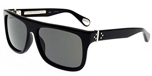 Linda Farrow Sonnenbrillen ANN DEMEULEMEESTER 2 BLACK 925 SILVER BLACK SILVER/GREY Herrenbrillen