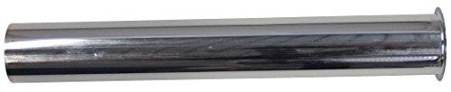 sanicomfort 1933221 Siphon-Tauchrohr mit Bördelung Metall verchromt