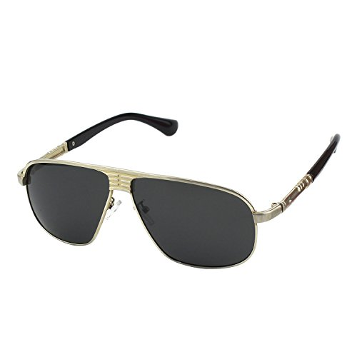 CGID CG272 Herren Aviator Sonnenbrille 66mm