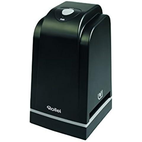Rollei DF-S 500 SE - Escáner de diapositivas, 5.0 Megapixel, color negro