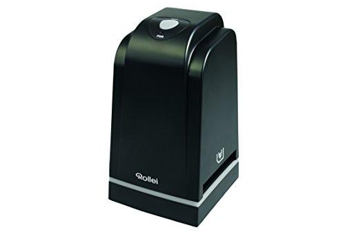 Rollei DF-S 500 SE – Dia Film Scanner für Dias und Negative mit 5 MP und 1.800 dpi Scan-Qualität, USB 2.0 Anschluss, inkl. umfangreichem Zubehör – Schwarz