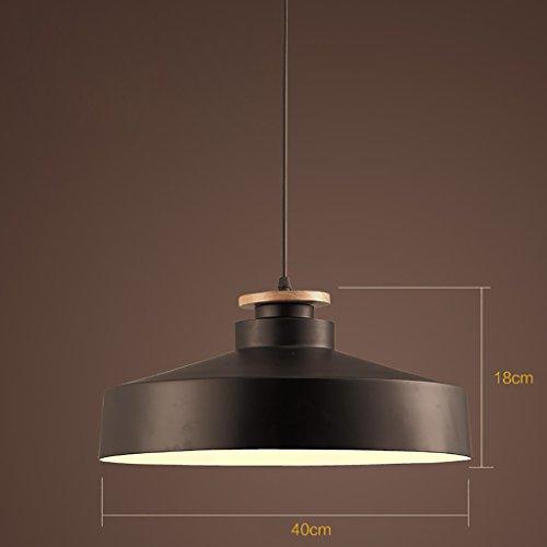 POPAHOME Lampadari Large semplice cilindro singolo lampadario