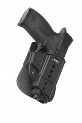 Fobus Roto Left Hand Paddle Holster - S&W M&P 9mm, .40, .45 (compact & full size) Left Hand by Fobus (Für Holster S&w 9mm M&p)