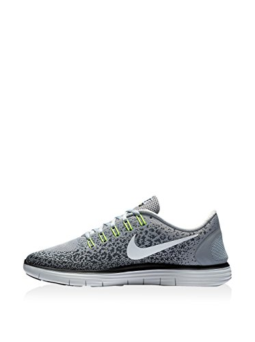 Nike Free Rn Distance, Chaussures de Running Entrainement Homme Gris (Wolf Grey / Off White-Cool Grey-Black)