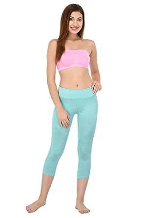 Ishita Fashions Women's Tube Bra Seamless Strapless Bandeau Top Tube Bra (Baby Pink)