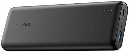 Anker PowerCore Speed 20100mAh Powerbank mit Power Delivery, 20000 PD Externer Akku Extrem Hohe Kapazität iPhone 8 / X, USB Typ C MacBooks und Weitere