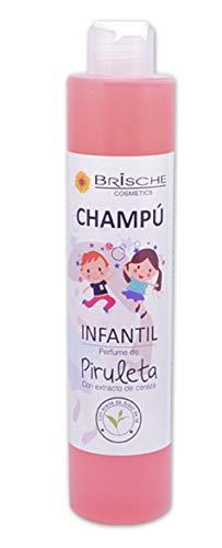 Champú Brische Infantil aroma Piruleta extracto árbol