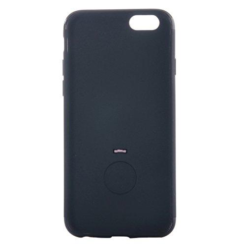IPhone 6 u. 6s Fall Ultra dünner weicher TPU schützender rückseitiger Abdeckungs-Fall mit Ring-Halter-Standplatz für iPhone 6 u. 6s by diebelleu ( Color : Purple ) Pink