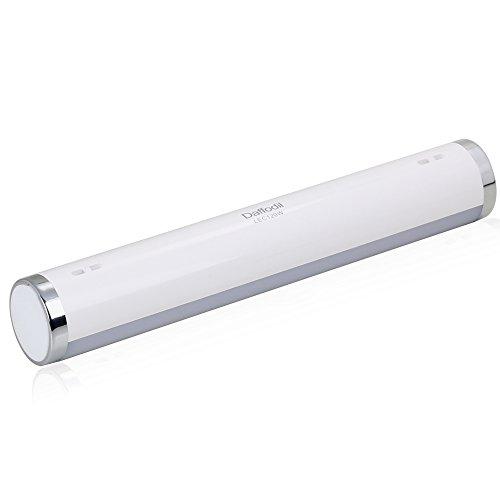Preisvergleich Produktbild Daffodil LEC120 - LED Camping Lampe - Wiederaufladbare Portable Laterne mit 54 LEDs - Verstellbare Helligkeit und Notfallmodus - Eingebauter Akku - weiß