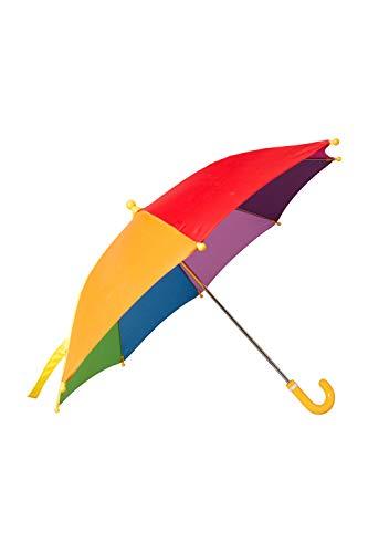 Mountain warehouse rainbow scherza l'ombrello dell'arcobaleno - divertimento & ombrello colourful del sole del tessuto dell'arcobaleno, ombrello facile della pioggia blu navy