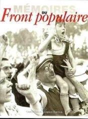 """Afficher """"Mémoires du Front populaire"""""""