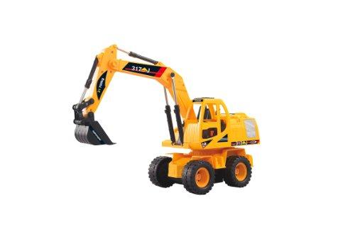 RC Auto kaufen Baufahrzeug Bild: Jamara 403790 - RC Bagger 317J 1:24 3 Kanal inklusive Fernsteuerung*