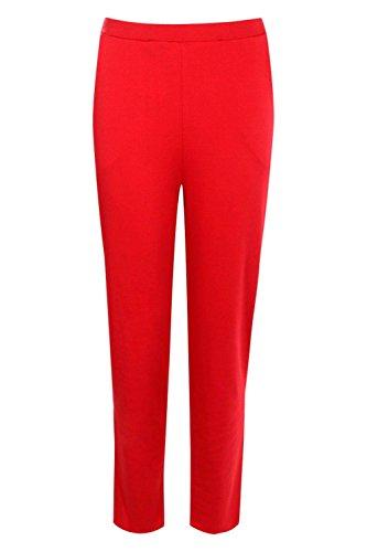 rouge Femmes Lily Pantalon Skinny À Poche Rouge