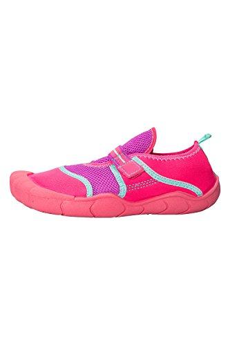 mountain-warehouse-maui-kids-aqua-shoes-bright-pink-3-child-uk