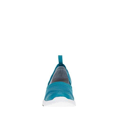 Propet Travel Walker Slip-On Elite Large Synthétique Mocassin Turquoise