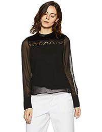 VERO MODA Women's Plain Regular Fit Top