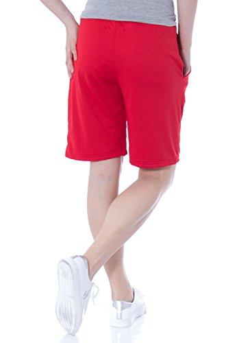 PYREX - Femme regular fit shorts 33386 Rouge