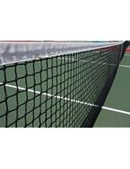 Carrington Tennisnetz Doppel PRO 12,8 m, PE 3,5 mm,Wetterfest und UV-Schutz - EXTREM ROBUST