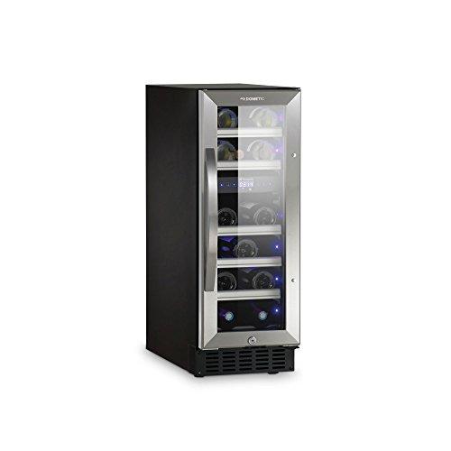 DOMETIC MaCave S17G - Wein-Kühlschrank zur idealen Wein-Lagerung von 17-23 Flaschen, 2-Zonen...