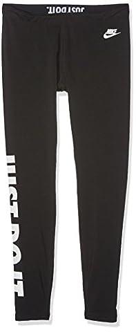 Nike Damen Oberbekleidung Leg A See Just Do It Tights, schwarz, S, 726085-010