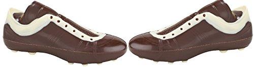 Preisvergleich Produktbild 01 010419 Schokolade Fußballschuh,  einfach,  Zartbitter,  Fußballer,  Fußballspieler,  Tor,  Schalke,  BVB