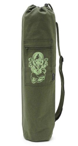 Yogistar Yogatasche Basic Ganesha - Baumwolle - 65 cm - Olive
