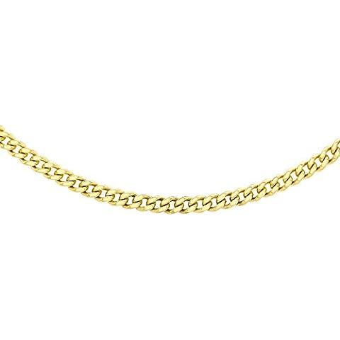 Carissima Gold Collar de mujer con oro amarillo de 9 quilates (375/1000), sin gema