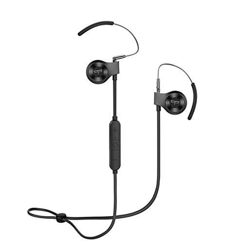 Origem HS-3 Bluetooth Kopfhörer mit HDR-Audio & Sprachsteuerung & BT 5.0,wasserdichte Sport Kabellose Ohrhörer mit 40 Minuten Schnellladung für Joggen/Laufen/Fitness (Schwarz) Gm Bluetooth
