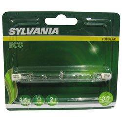 Sylvania SYL0021540 Tube Crayon halogène, Aluminium, Blanc