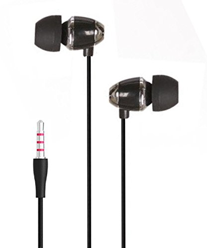 Exclusive Deals, Great Indian Sale, Golden Hour Deals, BassHeads XUV U-7 Perfect in-ear seal blocks out external noise In-Ear Metal Headset with Mic For all iPod, iPhone, iPad, Android device, mp3 player, CD player, portable DVD player, PSP, MD, radio or laptop computer - Black