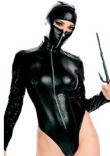 (Gorgeous Lang maskierten Ninja-Krieger Ninja Spiel Uniformen Halloween Hokkaido Lackleder Gladiator Kleidung cosplay Modelle)