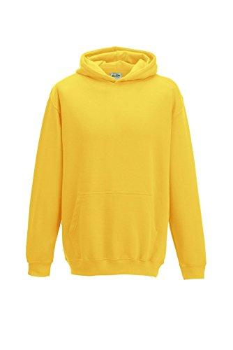 All we do is - Kinder Kapuzensweatshirt Hoodie Sweatshirt, gelb, Gr.140 (Kinder Pullover)